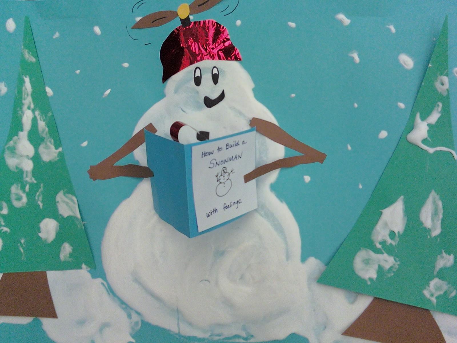Snowmen at night lesson plans